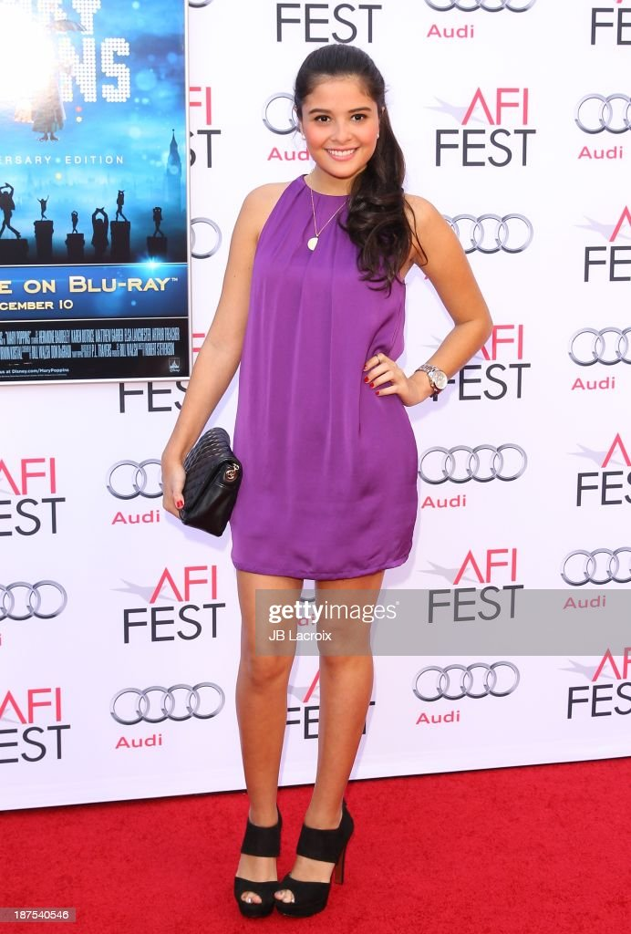 Marisa Mesa attends the AFI FEST 2013 Presented By Audi - 'Mary Poppins' 50th Anniversary Edition held at TCL Chinese Theatre on November 9, 2013 in Hollywood, California.