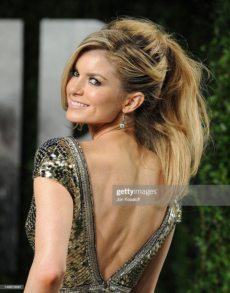 Marisa Miller attends the 2012 Vanity Fair Oscar Party at Sunset Tower on February 26, 2012 in West Hollywood, California.