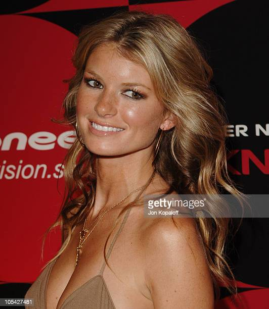 Marisa Miller during Pioneer Electronics Party at Montmartre Lounge in Hollywood California United States