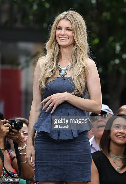 Marisa Miller is seen at The Grove on July 17 2013 in Los Angeles California