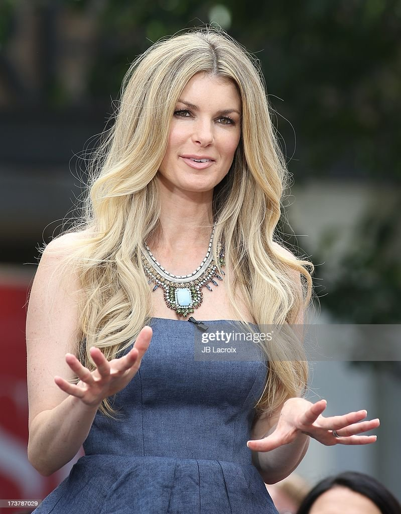 Marisa Miller is seen at The Grove on July 17, 2013 in Los Angeles, California.