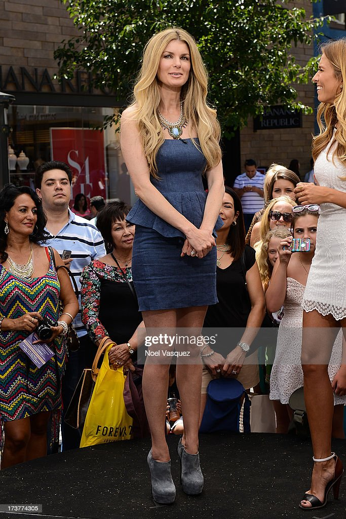 Marisa Miller visits 'Extra' at The Grove on July 17, 2013 in Los Angeles, California.