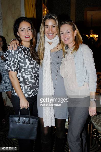 Marisa Noel Brown and attend MARIA HATZISTEFANIS presents GLAMOTOX at a glamorous upper east side luncheon at The Carlyle on December 3 2007 in New...