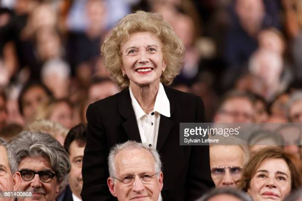 Marisa Paredes attends opening ceremony of 9th Film Festival Lumiere In Lyon on October 14 2017 in Lyon France