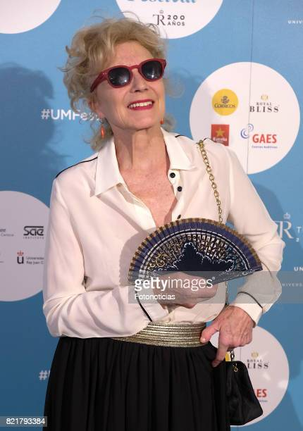 Marisa Paredes attends the The Pretenders Universal Music Festival concert a The Royal Theater on July 24 2017 in Madrid Spain