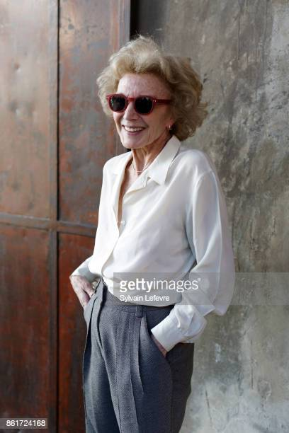Marisa Paredes poses at Lumiere Brothers Institut during day 2 of 9th Film Festival Lumiere on October 15 2017 in Lyon France