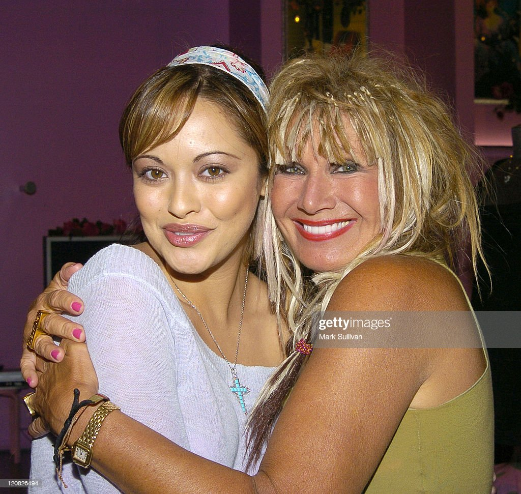 Marisa Ramirez and Betsey Johnson during Betsey Johnson Hosts National Breast Cancer Coalition Benefit Cocktail Party at Betsey Johnson Melrose Store...