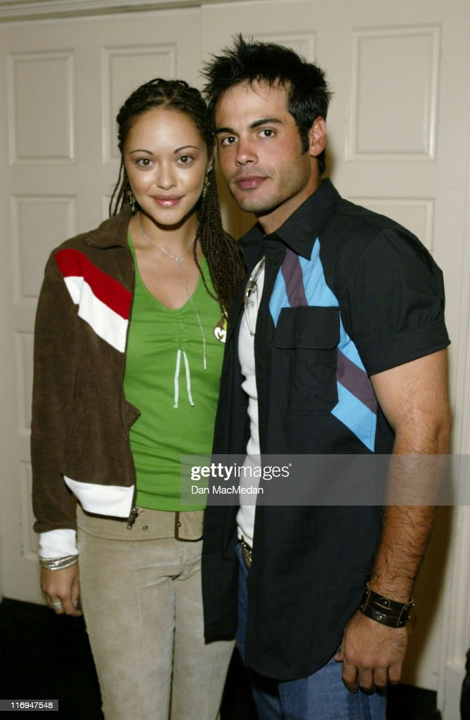 Marisa Ramirez and Coltin Scott during ABC's 'General Hospital' Fan Day at Sportsman's Lodge in Studio City California United States