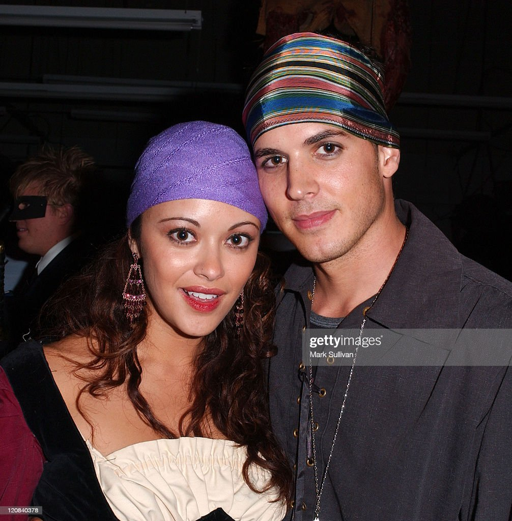 Marisa Ramirez and husband Nathan Lavezoli during 6th Annual Almost Human Halloween Party in Association with CFQ/Femme Fatale Magazine at Almost...