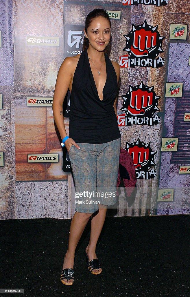 Marisa Ramirez during 2005 GPhoria Videogame Awards Arrivals at Los Angeles Center Studios in Los Angeles California United States