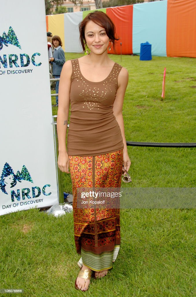 Marisa Ramirez during NRDC's Day Of Discovery Arrivals at Wadsworth Theater Grounds in Brentwood California United States