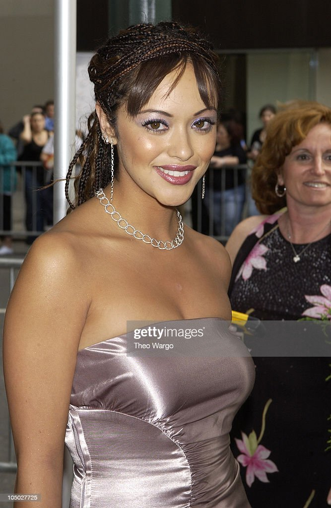 Marisa Ramirez during The 29th Annual Daytime Emmy AwardsArrivals at Madison Square Garden in New York City New York United States