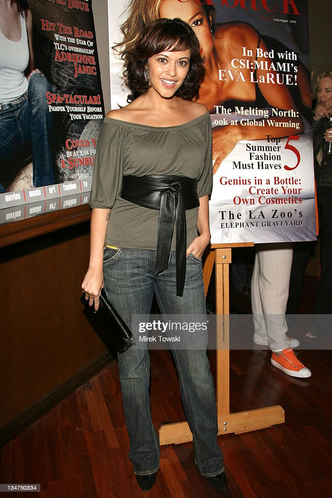 Marisa Ramirez during The Last Party of the Summer Party at Colors on Bedford in Beverly Hills CA United States