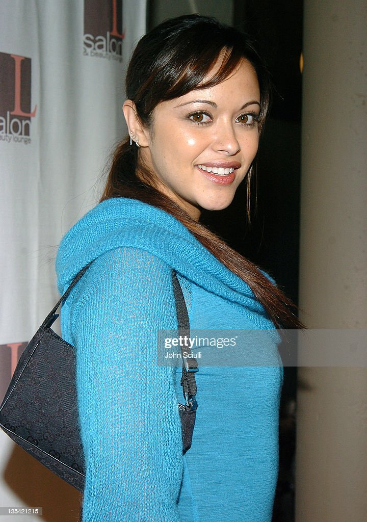 Marisa Ramirez during The Rebirth of L Salon Fashion Show and Party at L Salon in Los Angeles California United States
