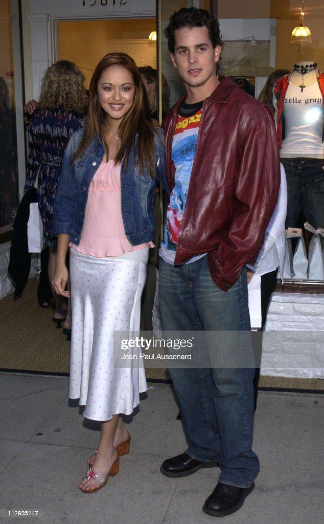 Marisa Ramirez husband Nathan Lavezoli during Opening of 'Belle Gray' Lisa Rinna's New Clothing Boutique at Belle Gray in Sherman Oaks California...