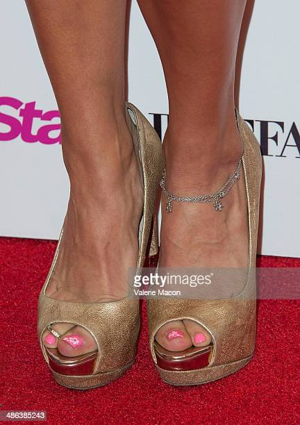 Marisa Saks arrives at Star Magazine Hollywood Rocks 2014 at SupperClub Los Angeles on April 23 2014 in Los Angeles California