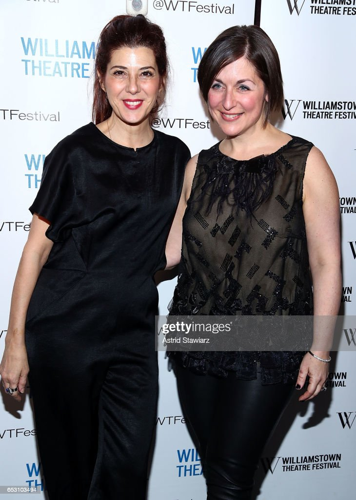 Marisa Tomei and Mandy Greenfield attend the 2017 Williamstown Theatre Festival Benefit at TAO Downtown on March 13, 2017 in New York City.