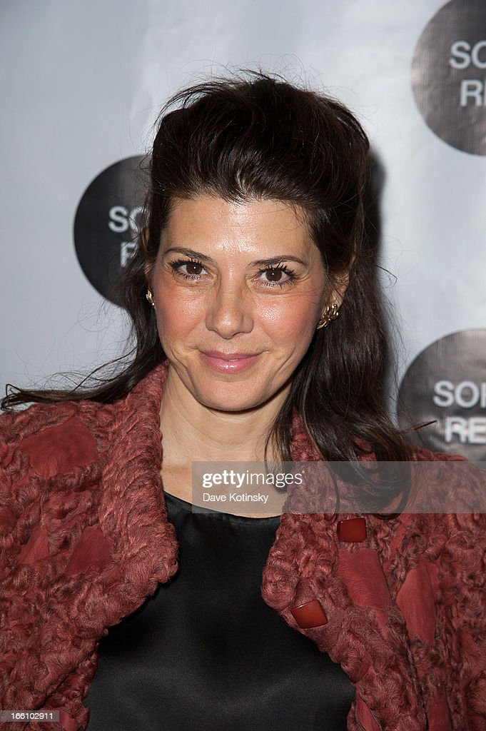 Marisa Tomei attends Soho Rep's 2013 Spring Gala on April 8, 2013 in New York, United States.