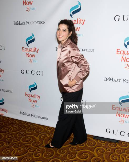 Marisa Tomei attends the 2017 Equality Now Gala at Gotham Hall on October 30 2017 in New York City
