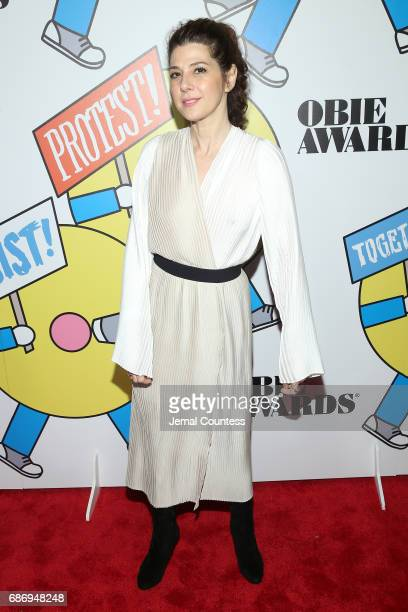 Marisa Tomei attends the 2017 Obie Awards at Webster Hall on May 22 2017 in New York City