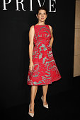 Marisa Tomei attends the Giorgio Armani Prive show as part of Paris Fashion Week Haute Couture Fall/Winter 2015/2016 on July 7 2015 in Paris France