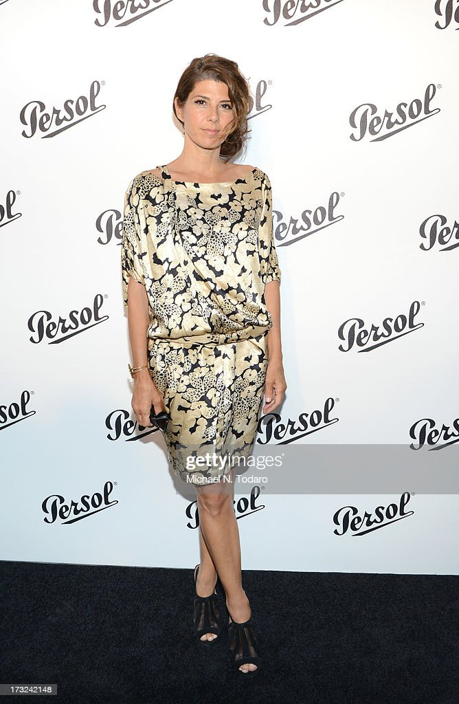 <a gi-track='captionPersonalityLinkClicked' href=/galleries/search?phrase=Marisa+Tomei&family=editorial&specificpeople=201516 ng-click='$event.stopPropagation()'>Marisa Tomei</a> attends the 'Persol Magnificent Obsessions:30 Stories Of Craftsmanship In Film' Opening at Museum of the Moving Image on July 10, 2013 in the Queens borough of New York City.