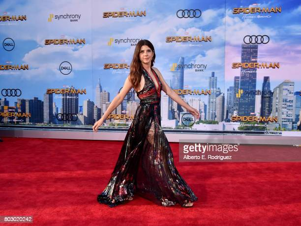 Marisa Tomei attends the premiere of Columbia Pictures' 'SpiderMan Homecoming' at TCL Chinese Theatre on June 28 2017 in Hollywood California