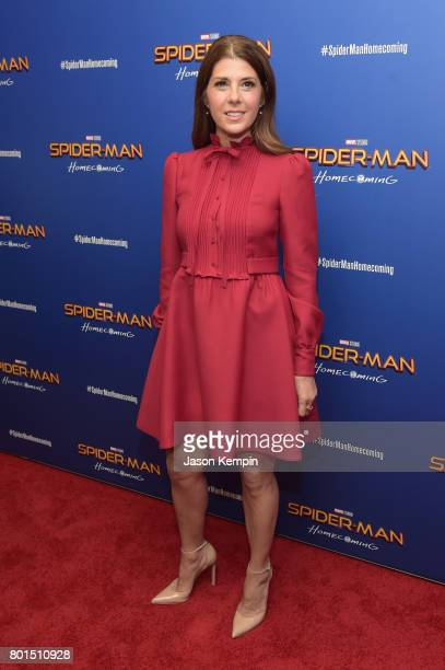 Marisa Tomei attends the 'Spiderman Homecoming' New York First Responders' Screening at Henry R Luce Auditorium at Brookfield Place on June 26 2017...