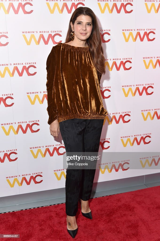 Marisa Tomei attends the Women's Media Center 2017 Women's Media Awards at Capitale on October 26, 2017 in New York City.