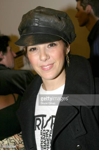Marisa Tomei during Opening Night Arrivals And Afterparty For Sam Shepards' Play 'The God of Hell' at The Actors Studio Drama School Theater then...