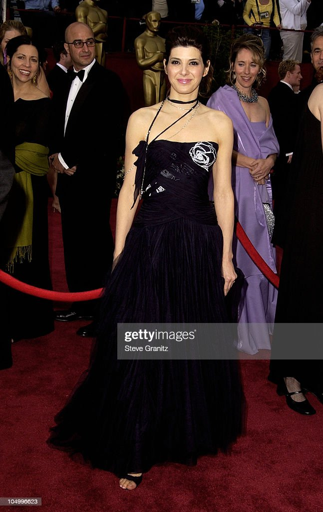 <a gi-track='captionPersonalityLinkClicked' href=/galleries/search?phrase=Marisa+Tomei&family=editorial&specificpeople=201516 ng-click='$event.stopPropagation()'>Marisa Tomei</a> during The 74th Annual Academy Awards - Arrivals at Kodak Theater in Hollywood, California, United States.