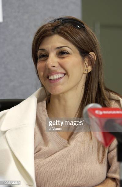 Marisa Tomei during Toronto 2001 In the Bedroom Press Conference at Press Conference in Toronto Canada