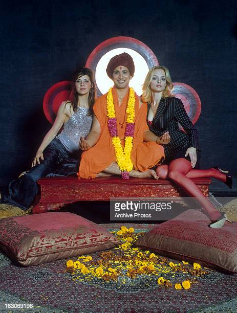 Marisa Tomei Jimi Mistry and Heather Graham in publicity portrait for the film 'The Guru' 2002
