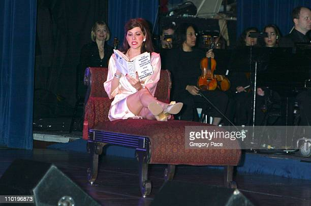 Marisa Tomei performs 'Adelaide's Lament' from 'Guys and Dolls' on stage