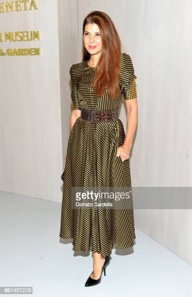 Marisa Tomei wearing Bottega Veneta at the Hammer Museum 15th Annual Gala in the Garden with Generous Support from Bottega Veneta on October 14 2017...