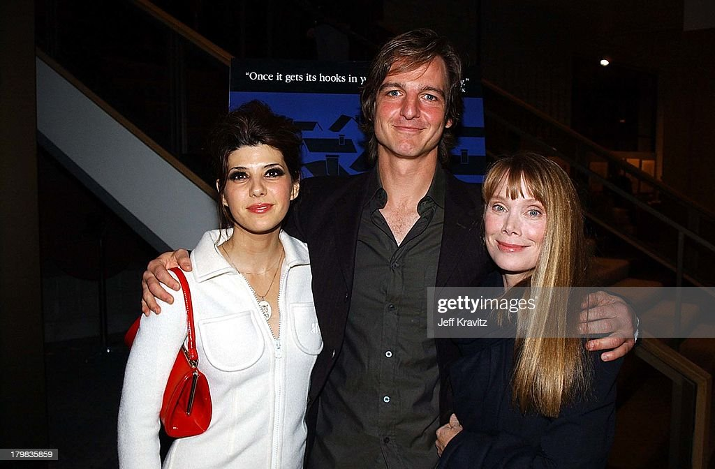Marisa Tomei William Mapother Sissy Ek During In The Bedroom Premiere By Miramax
