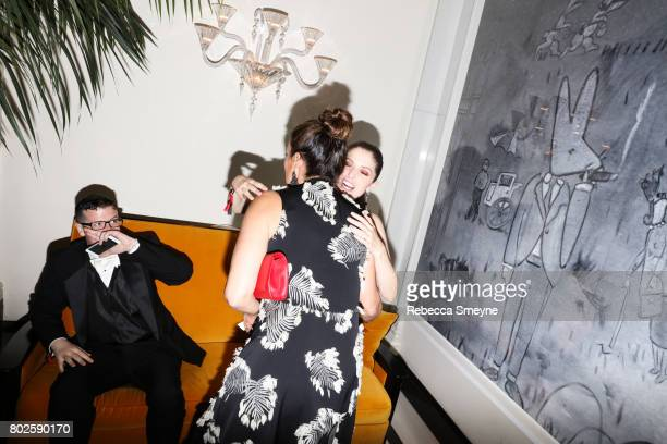 Mariska Hargitay and Anna Kendrick attend the OM afterparty for the Tony Awards at the Carlye Hotel on June 12 2017 in New York City