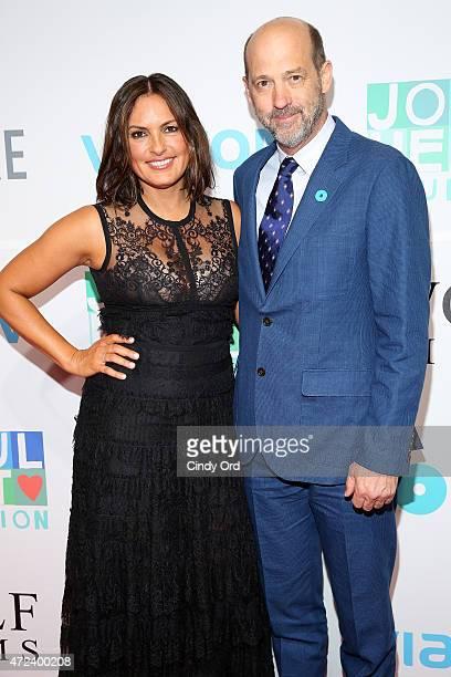 Mariska Hargitay and Anthony Edwards attend The Joyful Revolution Gala hosted by Mariska Hargitay's Joyful Heart Foundation at Spring Studios on May...