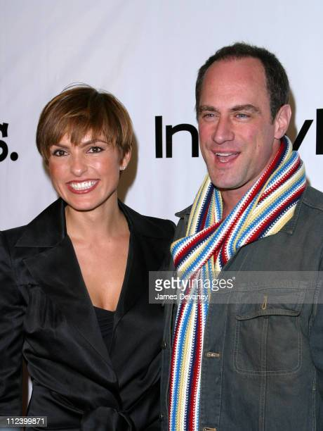 Mariska Hargitay and Christopher Meloni during Project ALS 5th Annual New York City Gala 'Tomorrow is Tonight' Benefit at Roseland in New York City...