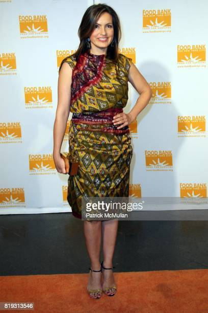Mariska Hargitay attends FOOD BANK FOR NEW YORK CITY Presents the 8th Annual CANDO AWARDS Dinner at Abigail Kirsch's Pier Sixty at Chelsea Pier on...