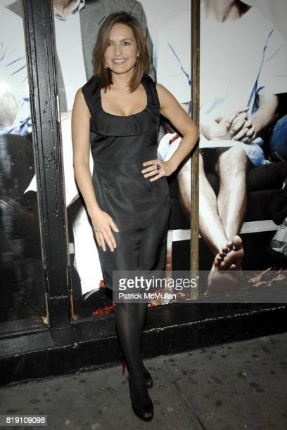 Mariska Hargitay attends NEXT FALL Opening Night Arrivals at Helen Hayes Theatre on March 11 2010 in New York City