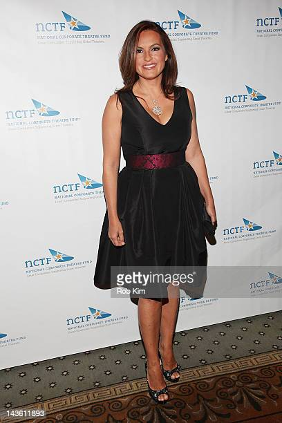 Mariska Hargitay attends the 2012 National Corporate Theatre Fund Gala at The Pierre Hotel on April 30 2012 in New York City