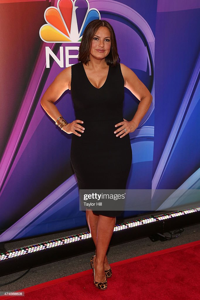 Mariska Hargitay attends the 2015 NBC Upfront Presentation Red Carpet Event at Radio City Music Hall on May 11, 2015 in New York City.