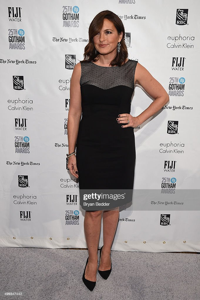 Mariska Hargitay attends the 25th IFP Gotham Independent Film Awards cosponsored by FIJI Water on November 30 2015 in New York City