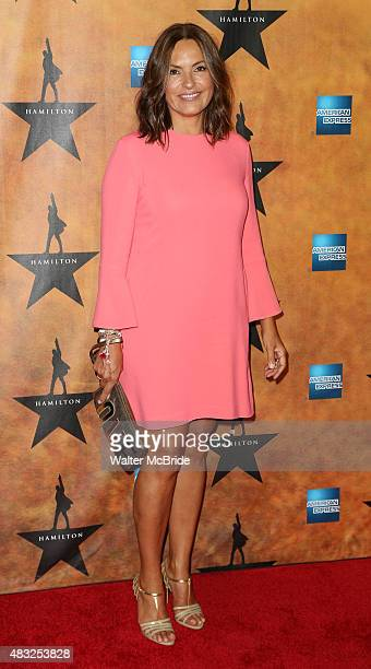 Mariska Hargitay attends the 'Hamilton' Broadway Opening Night After Party at Pier 60 on August 6 2015 in New York City