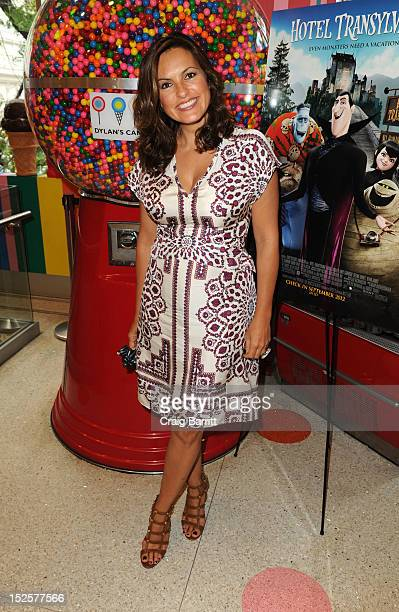 Mariska Hargitay attends the 'Hotel Transylvania' New York Premiere After Party at Dylan's Candy Bar on September 22 2012 in New York City