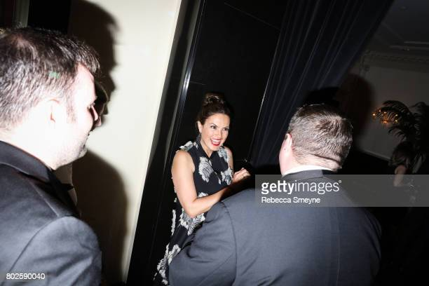 Mariska Hargitay attends the OM afterparty for the Tony Awards at the Carlye Hotel on June 12 2017 in New York City