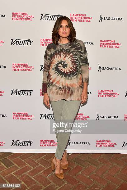 Mariska Hargitay attends Variety's 10 To Watch Brunch and Panel during the Hamptons International Film Festival 2016 at Nick Toni's on October 8 2016...