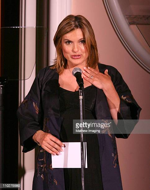 Mariska Hargitay during 10th Annual Prism Awards Inside at Beverly Hills Hotel in Beverly Hills California United States