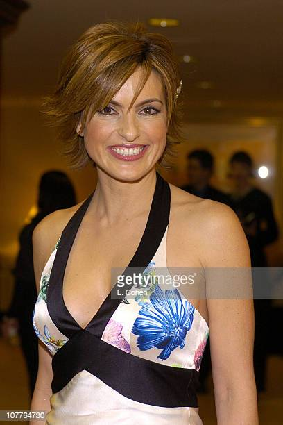 Mariska Hargitay during 56th Annual Writers Guild Awards Arrivals at Century Plaza Hotel in Los Angeles California United States